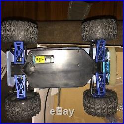 1/18 Full Aluminum Up Graded Gem! Vintage Team Associated Rc18mt Monster Truck