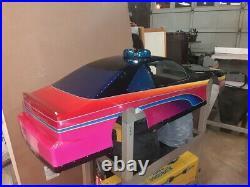 1/4 Scale Rc Vintage Fiberglass Stp 43 Body