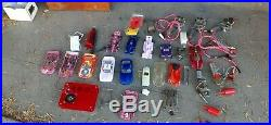 12 1/32 Slot Car Lot Cars & Parts some vintage and controllers and more