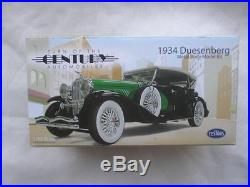 132 Scale 1934 Duesenberg Metal Body Model Kit - - testors car set diecast