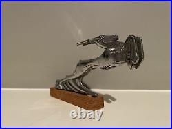 1931-32 Chrysler Gazelle Hood Ornament Mascot Vintage Auto Car Part