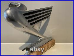 1935 Chevrolet Winged Eagle Hood Ornament Mascot Vintage Car Part Chevy