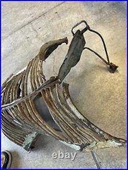 1936 Pontiac Grill Shell Nose Cone Coupe Sedan Rat Rod Vintage Car