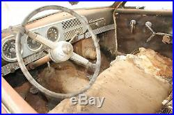 1949 Studebaker 49 Commander 2 Two Door Classic Parts Car No Title As Is Vintage