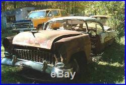 1955 Chevy Chevrolet Bel Air 2dr ht rat hot rod custom