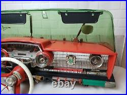 1960's Deluxe Reading PlayMobile Toy 1965 Ford Galaxy Car Dash Parts Repair VTG
