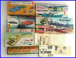 1960s Model Cars Truck Planes Parts/Pieces Junkyard Lot Monogram/Supreme/AMT