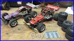 2 Marui Samurai Vintage Rc Race Buggy With Parts 4x4