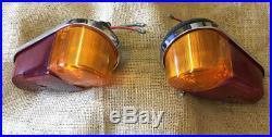 2 Vintage Classic Mini Mk1 / Mga /Lucas L647 Rear Light Units