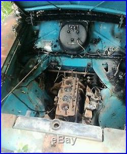 3 metropolitan parts cars, vintage