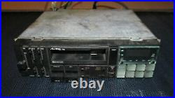 ALPINE 7155 CAR STEREO Rare Vintage, Tested Not Working 100%. For Parts/Repair