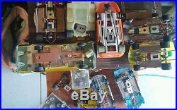 AMT 1/24 Slot Car lot & other brands Parts Lot Vintage
