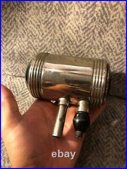 Antique Auto Parts Rear Vintage Car Truck Fender Signal Glass Part