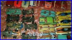 Aurora AFX vintage slot cars large lot plus parts