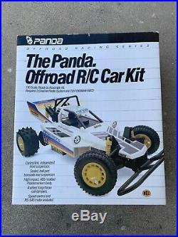 Brand New Sealed Vintage Panda Racing RC Buggy Car Tamiya Kyosho Nikko Associate