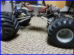 Clodbuster ESP clodzilla 4 chassis with extras vintage rare futaba grave digger