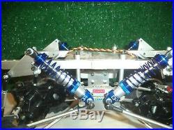Clodbuster Tamiya ESP III Vintage 4 Link Monster Truck Hi-Tec Ultra Nice Build