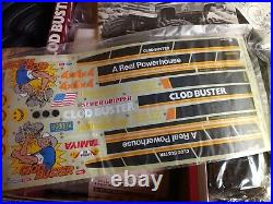 Clodbuster (new Bowtie Kit) Vintage Tamiya Vintage Rc Car Vintage Rc Motor