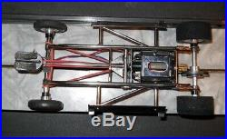 Cox Gurney Galaxie chassis, Vintage slot car parts, 100% complete original