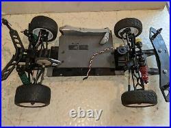 Custom Works RC Rocket Late Model Roller w Servo Vintage UPGRADES Dirt Oval