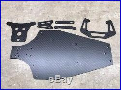 Factory Works Vintage A&L Carbon Fiber C2 RC10 Trailing Arm Kit With Chassis