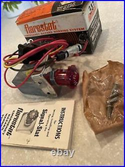 For Parts NOS Vintage FLARESTAT 105-12v Accessory Emergency Hazard 4 way Flasher