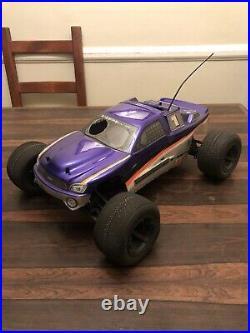 HPI MT 4x4 nitro rare vintage rc truck Hpi Racing Mt2 Mt4 Gas Truck 1/10