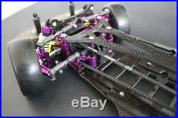 HPI RACING RS4 Pro 3 loaded with upgrades! Rare Parts Vintage RC 1/10 Car