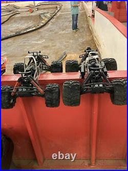 HPI SAVAGE X Nitro/Electic Rollers VINTAGE RARE Hard to Find