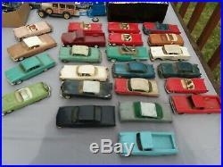 Huge 115+ Vintage Car Model Junkyard Lot, for restore or parts MUST SEE