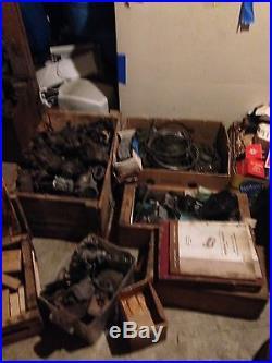Huge Lot Inventory Vintage Car Parts Rare NOS