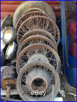 Huge Lot Inventory Vintage Car Parts Rare NOS Rat Rod Ford Army Willys Jeep