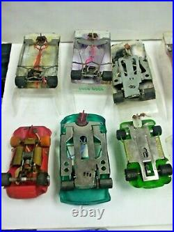 Huge Lot of Vintage 1/24 scale Slot Cars, Parma Speed Controls Parts and More