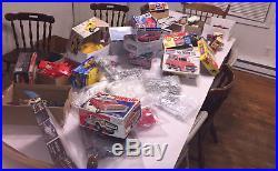 Huge Multi model car junkyard vintage and new kits TONS OF PARTS
