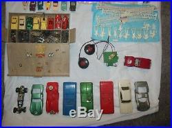 Huge Slot Car/parts/custom/rare/atlas Parts Lot Vintage