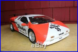Kyosho Lamborghini Diablo VT 1/10th Scale Car Series, Vintage Roller, Rare