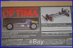 Kyosho Optima 4 Wheel Drive Kit Vintage Re-release Límited Run (BELT DRIVE)
