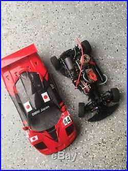 Kyosho on-road mclaren nitro rc car vintage collectable immaculate shape nice