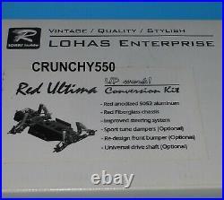 LOHAS Red Ultima Conversion Kit Kyosho Ultima Vintage RC Part
