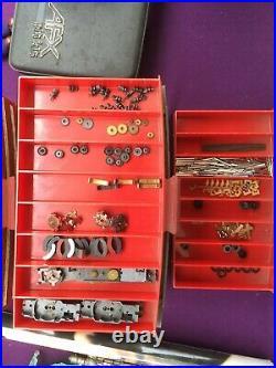 Large Vintage Slot Car Collection W Major Parts Bins. Tyco, Afx, Aurora