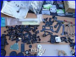 Large lot Vintage Team Associated RC500 1/8 RC Car parts & Boxes 1980s RC250