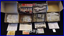 Lot Of Eleven Vintage Muscle Car Models 124 & 125 Sealed Mint Parts