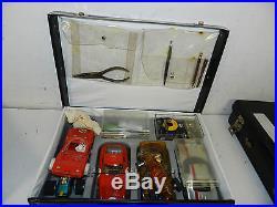 Lot Of Vintage Assorted Slot Cars & Parts Lot Junkyard