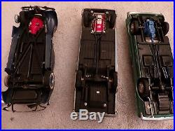 Lot of 11 Eleven Older Built Plastic Model Cars Kits from the 1960's and Parts