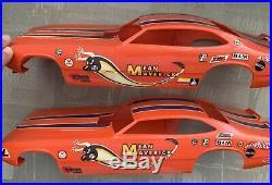 Monogram MEAN MAVERICK Funny Car Model Built/Parts