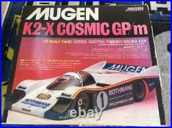 Mugen K2-x Cosmic Gp/m Vintage Rc Car Diecast 1/12 Parts Missing Used Japan F/s