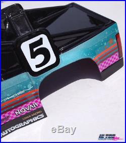 New Custom Vintage'93 RC10t Associated Jconcepts RC PAINTED BODY Novak Futaba
