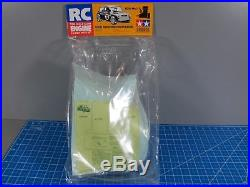 New Vintage Tamiya 1/8 Rover Mini Cooper Racing Body Parts Set 50841 TG10-MK. 1