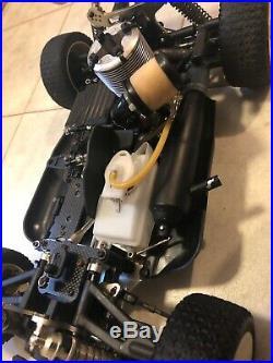 Ofna Ultra Lx 4x4 4wd 1/8 Scale Buggy Nitro Vintage Running Radio Control Rc Car