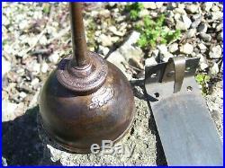 Old rare Original Ford motor co. Oil can w mount bracket under hood auto vintage